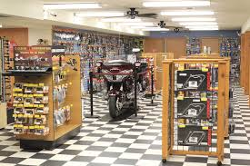 motorcycle shop